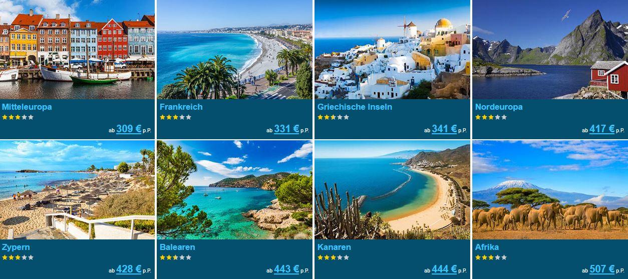 Skandinavien Urlaub 2020/2021 朗 Jetzt günstig verreisen